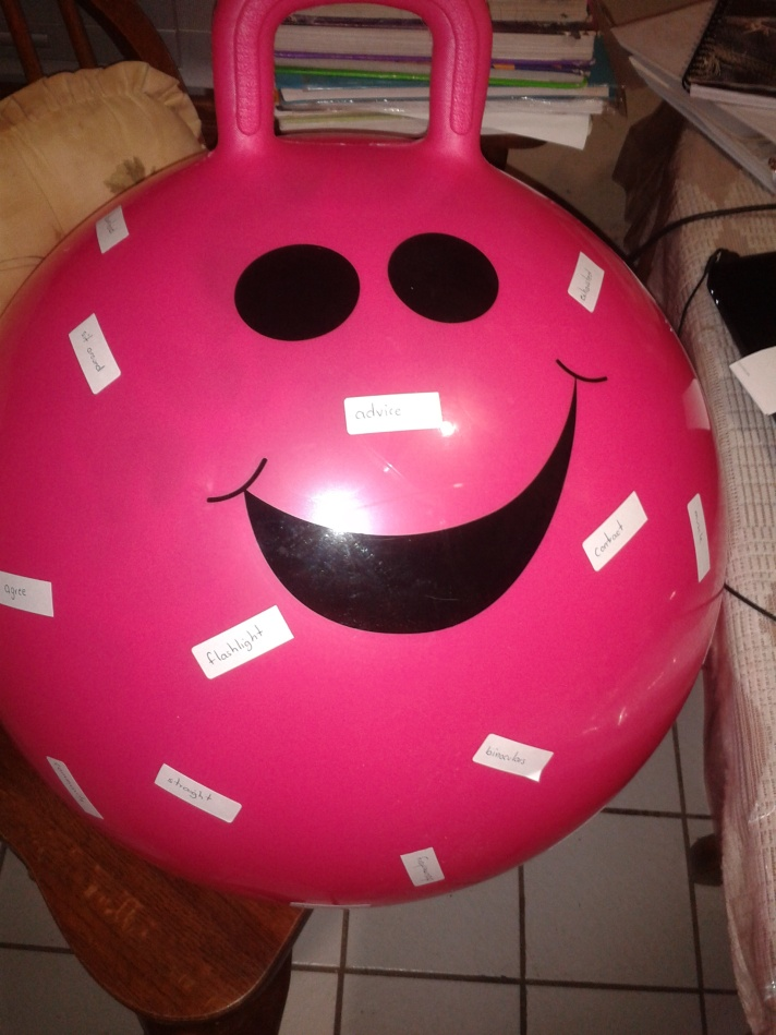 Spelling ball