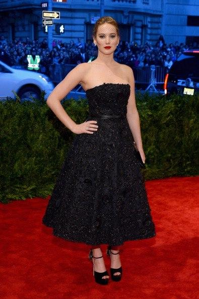Jennifer Lawrence. Met Gala