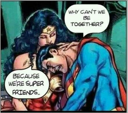 friend zone super man