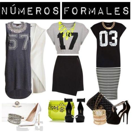 Números a la moda