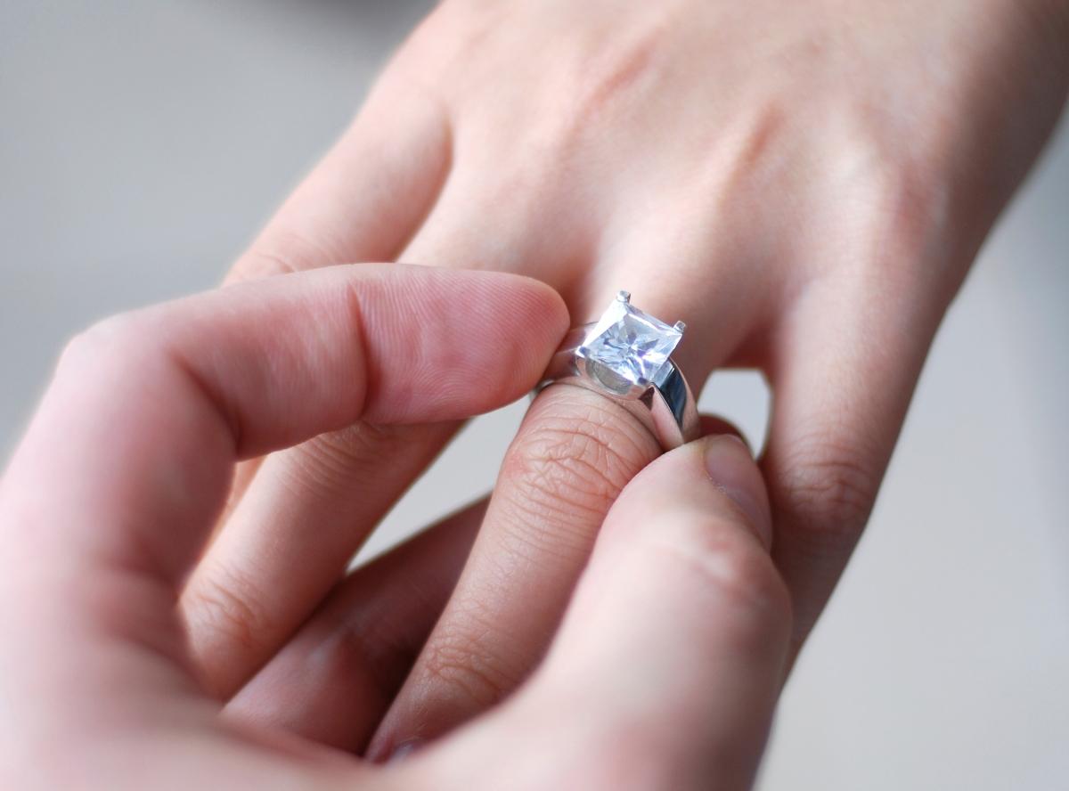 ¿Qué debo hacer cuando me dan el anillo?